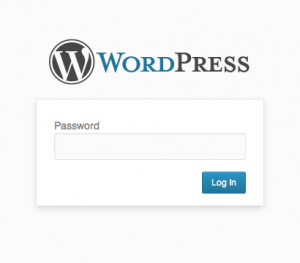 password protected