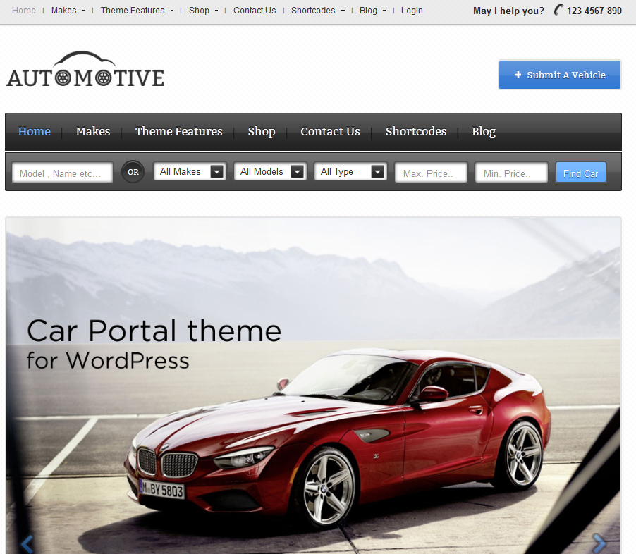 automotive theme