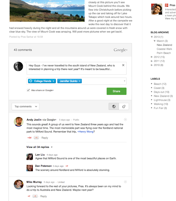 google+comments