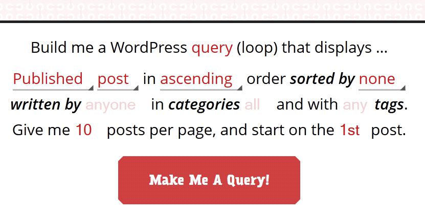 wordpress query