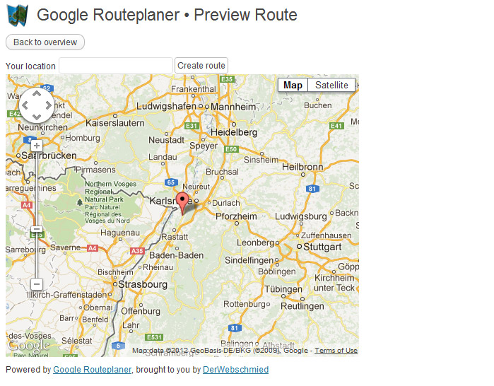 Google Routeplanner: Add Route Plans To WordPress – Practical WP