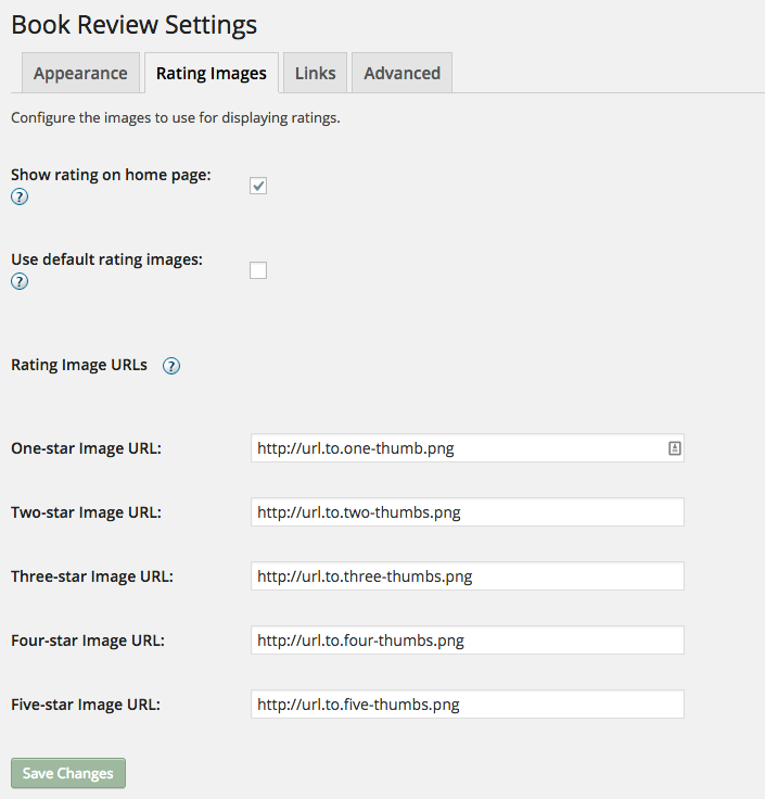 book review plugin
